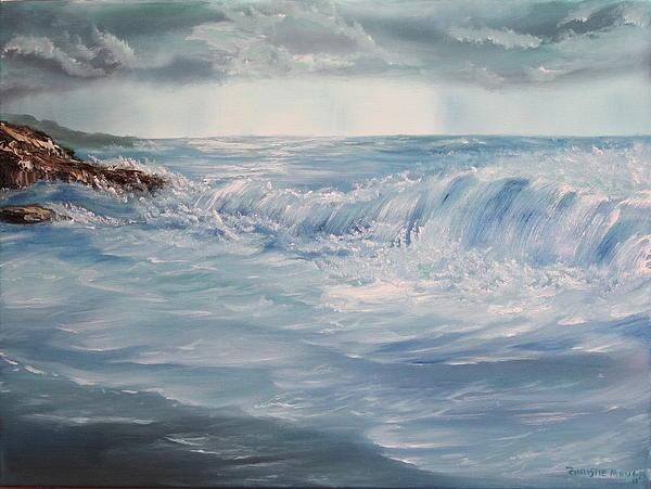 A Break In Storm Print by Christie Minalga
