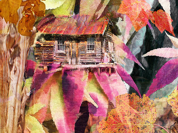 A Cabin In The Woods - A Novel Print by Larry Bishop