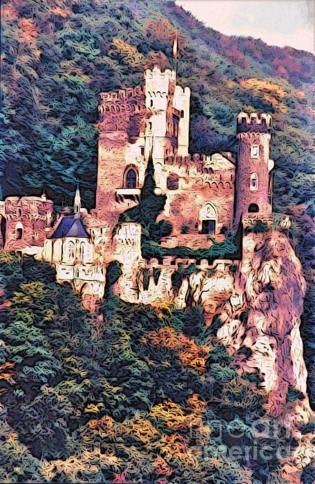 Phyllis Kaltenbach - A Castle Above the Rhine