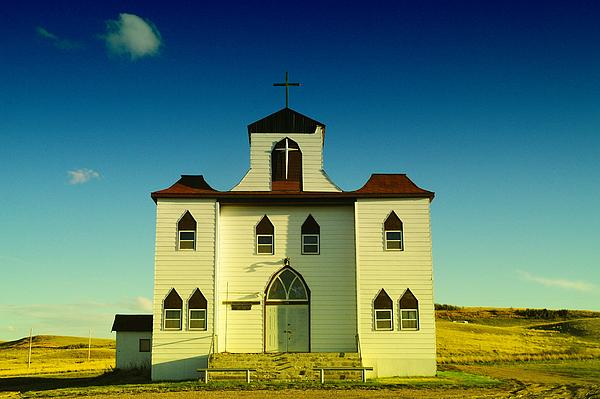 Jeff  Swan - A Church In Bainville Montana