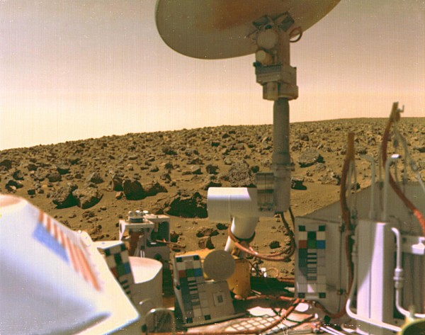 A Field Of Red Rocks Reaches Print by Nasa