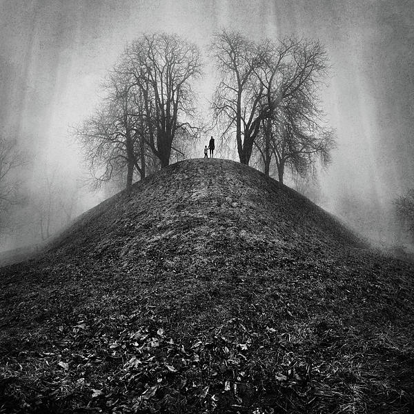 A Hope For The Eternal Presence Of Distant Places Print by Ioannis Lelakis