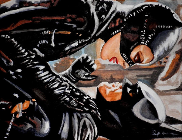 A Kiss Can Be Deadly If You Mean It Print by Al  Molina