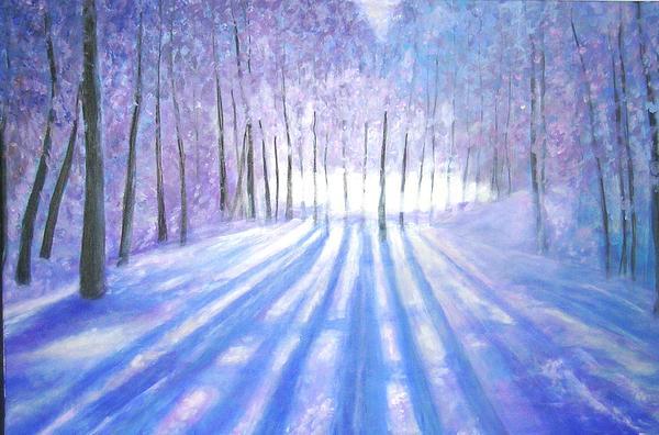 Marie-Line Vasseur - A long winter in Canada