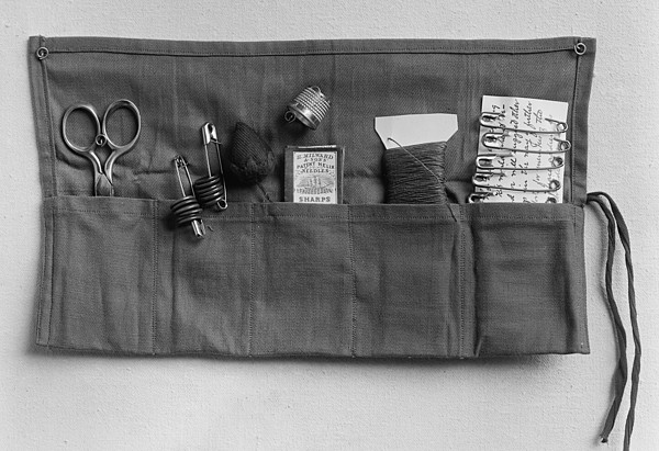 A Simple Sewing Kit, Provided Print by Everett