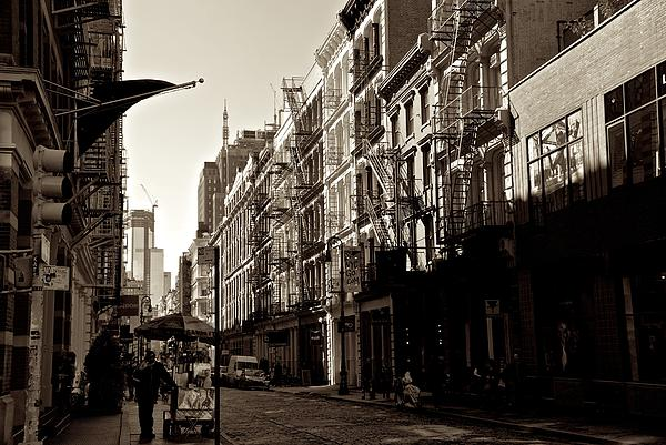 A Slice Of Soho Print by Eric Tressler