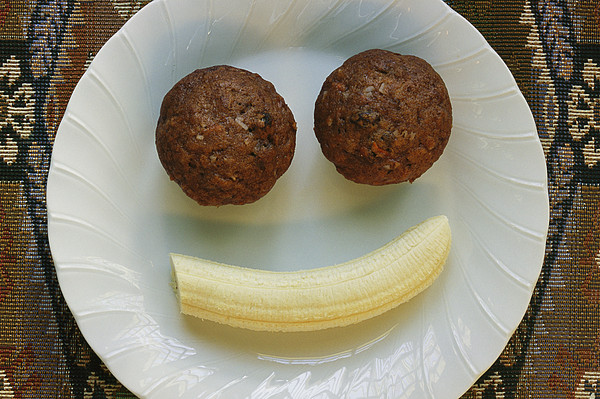 A Smiling Breakfast Of Muffins Print by Marc Moritsch