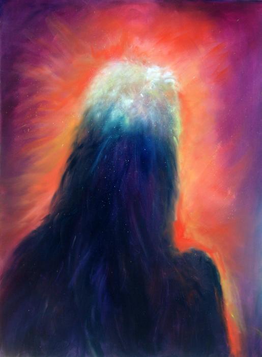 A Star Is Born Print by Sally Seago