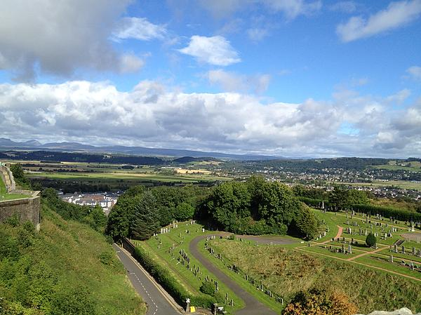A Stirling View Print by Michael McKenzie
