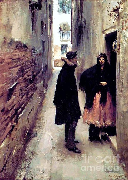 Pg Reproductions - A Street in Venice