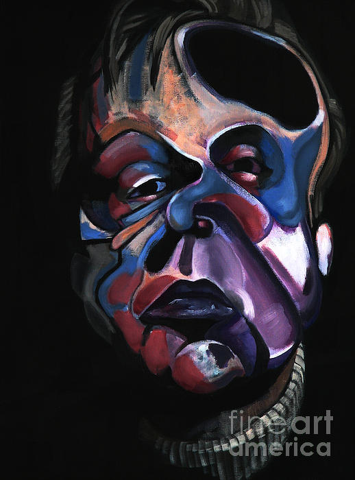 Ryan Babcock - A Study for a Portrait of Francis Bacon I