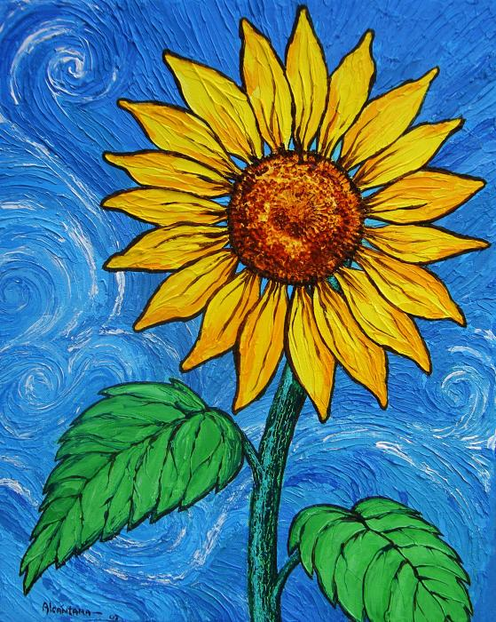 sunflowers | Inspirations for a new painting | Pinterest