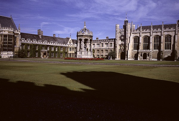A View Of The Courtyard Of Trinity Print by Taylor S. Kennedy