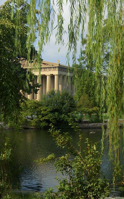 A View Of The Parthenon 3 Print by Douglas Barnett