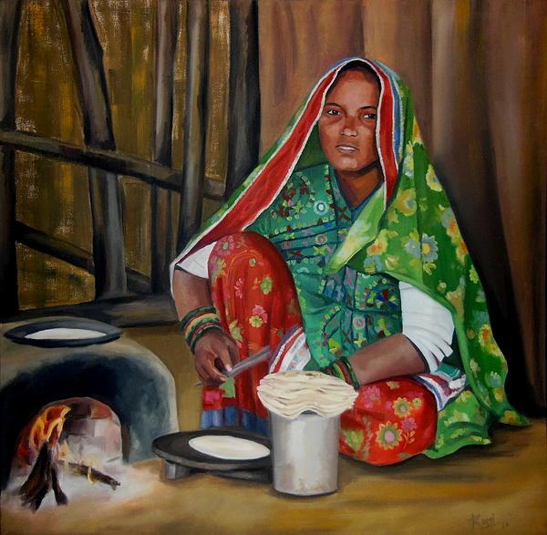Romi Soni - A Village Woman