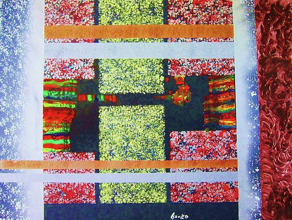 A Window Of Life Print by Adolfo hector Penas alvarado