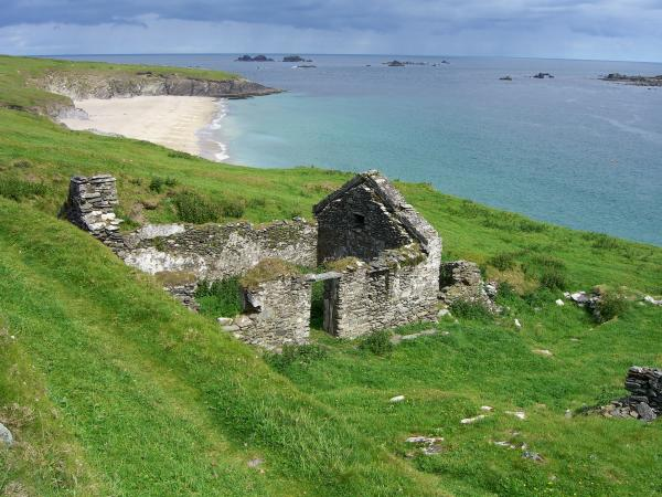 Abandoned Home On Great Blasket Island Photograph  - Abandoned Home On Great Blasket Island Fine Art Print