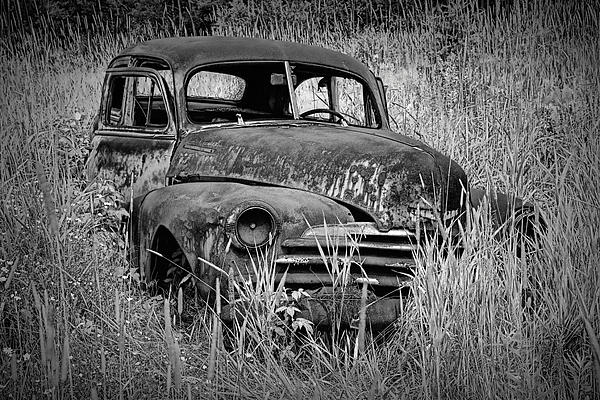 Randall Nyhof - Abandoned Vintage Car along the roadside