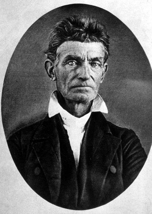 Abolitionist John Brown Print by Everett
