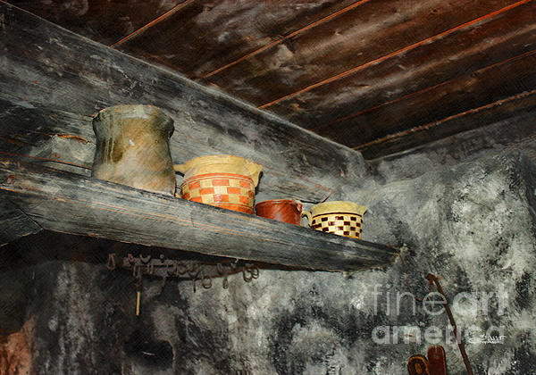 Above The Stove Print by Jutta Maria Pusl