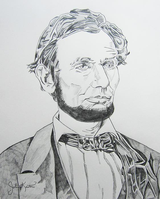 Abraham Lincoln Print by John Keaton