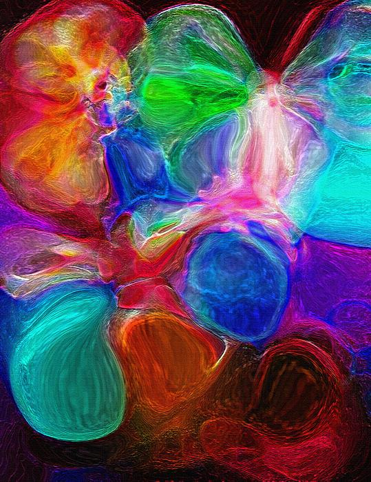 Abstract - Amoeba Print by Steve Ohlsen