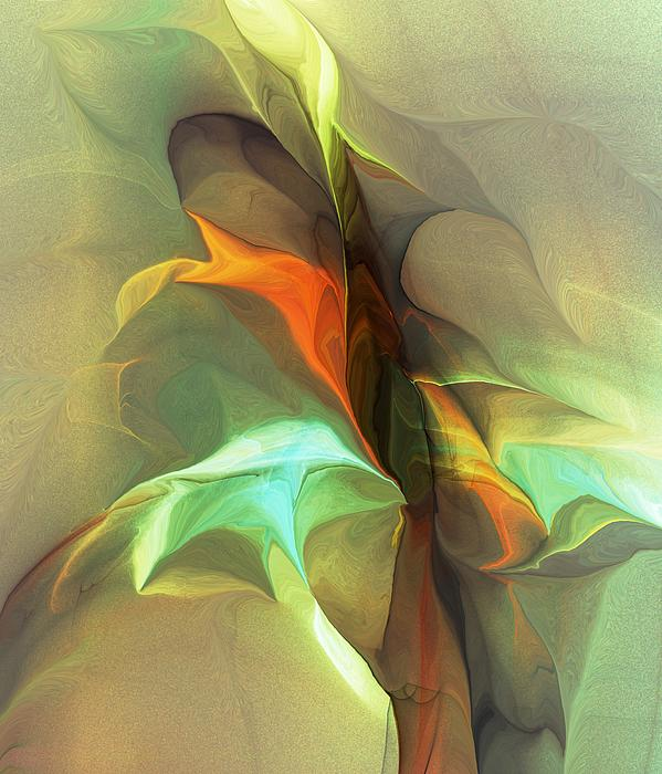 Abstract 040912B Digital Art