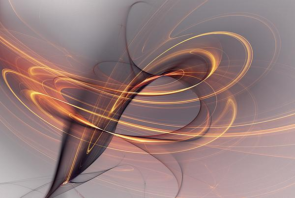 Abstract 090411 Print by David Lane