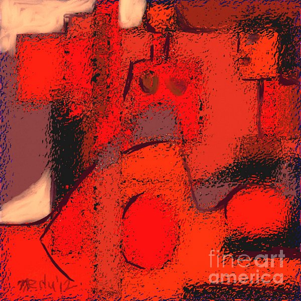 Abstract 463 Print by Nedunseralathan R
