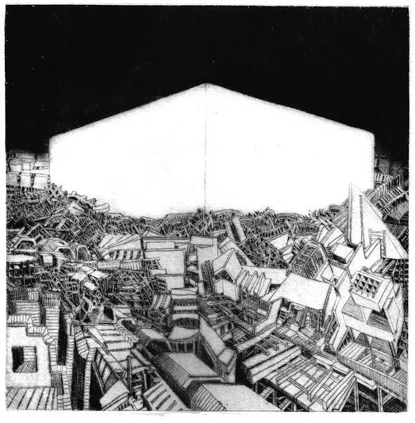 Abstract Europe 2054 Print by Waldemar  Szysz