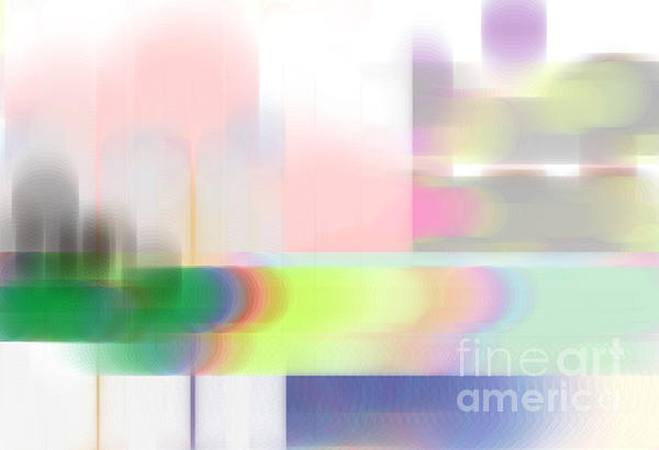 Abstract Landscape Print by Sonali Gangane