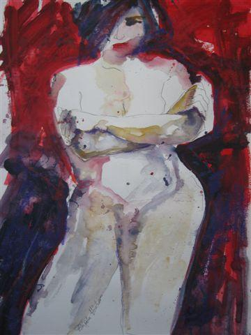 Brigitte Hintner - Abstract Nude