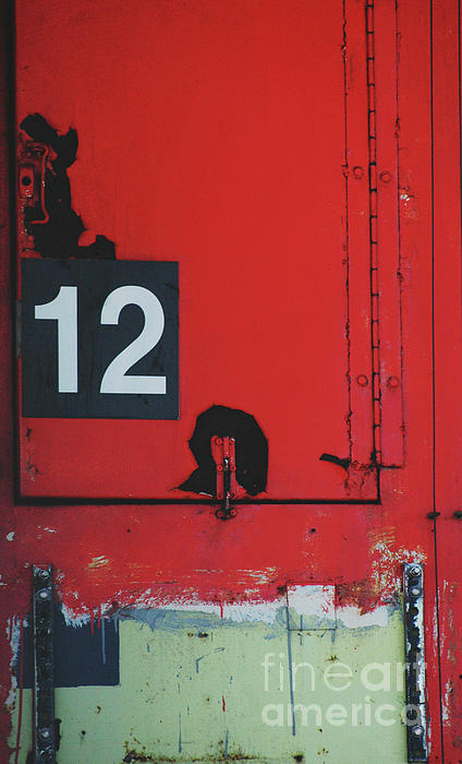 Abstract Number 12 Print by AdSpice Studios