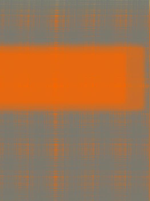 Abstract Orange 3 Print by Naxart Studio