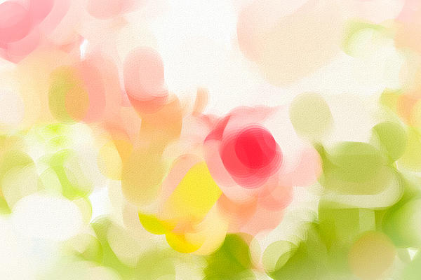 Abstract Roses Print by Tom Gowanlock