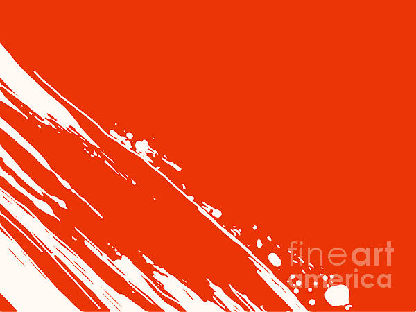Abstract Swipe Print by Pixel Chimp