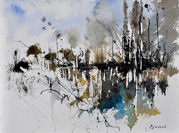 abstract watercolor 012130 by pol ledent. Black Bedroom Furniture Sets. Home Design Ideas