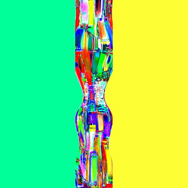 Abstracto Del Lunes Print by Rod Saavedra-Ferrere