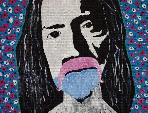 Acid Man Print by Robert Margetts