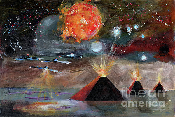 Activation Print by Ginette Fine Art LLC Ginette Callaway