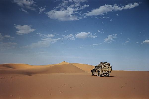 Ad Dahna Is The Red Sand Desert, Twenty Print by Maynard Owen Williams