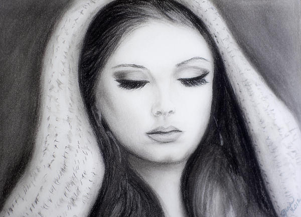 Adele Print by Gina Cordova