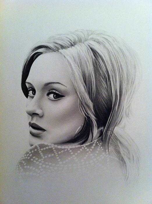 Adele by Tom Hansen