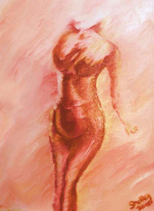 Aflame Print by Shelley Bain