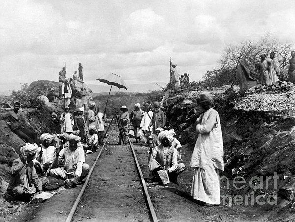 Africa: Railway, C1905 Print by Granger