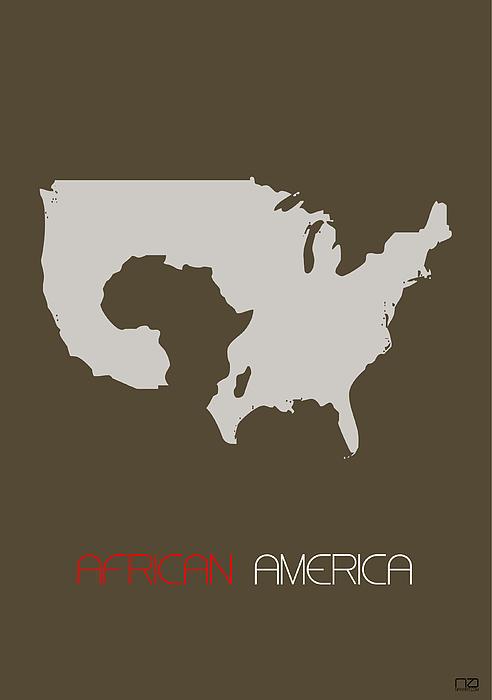 African America Poster Print by Naxart Studio