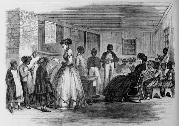 African American Students Print by Everett