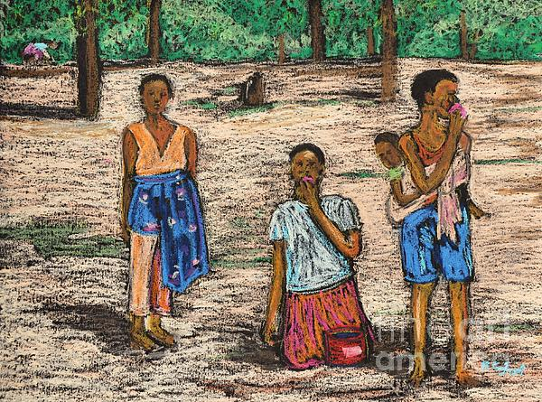 African Children Print by Reb Frost