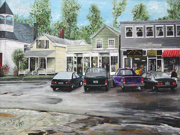 After The Rain Print by Stuart B Yaeger