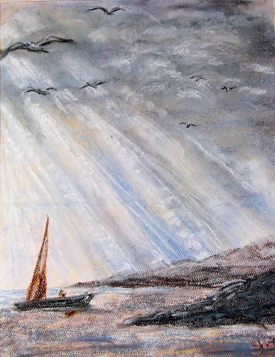 After The Storm Pastel  - After The Storm Fine Art Print